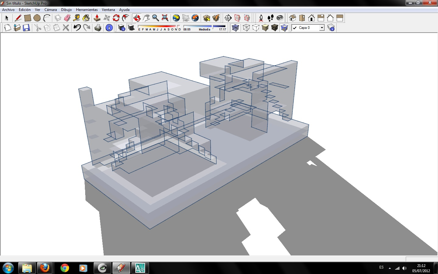 Software the architecture of interaction for Sketchup import stl